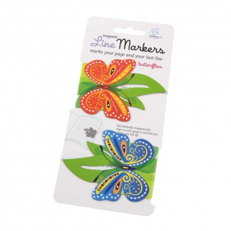 Magnetic linemarkers - Butterflies