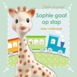 Baby voelboekje: Sophie gaat op stap