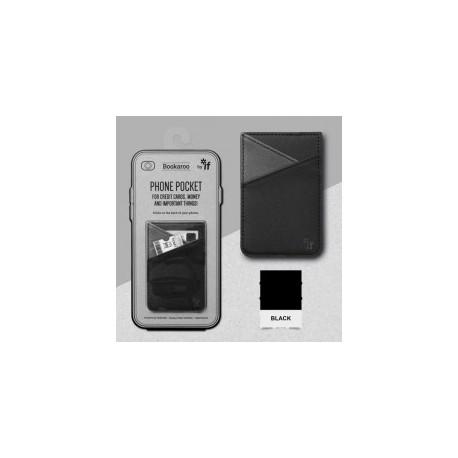 Bookaroo Phone Pocket - Zwart