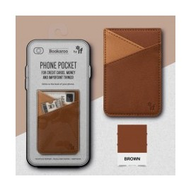 Bookaroo Phone Pocket - Bruin