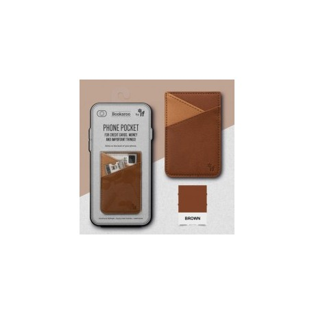 Bookaroo Phone Pocket - Bruin