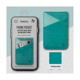 Bookaroo Phone Pocket - Turquoise