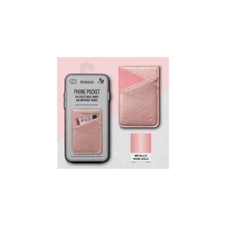 Bookaroo Phone Pocket - Rose Goud