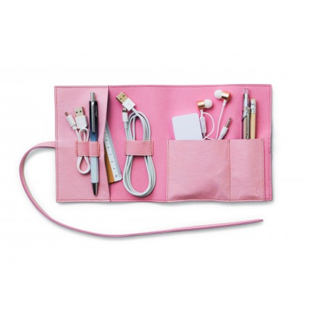 Bookaroo Travel Tech-Tidy - Roze