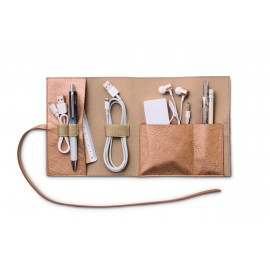 Bookaroo Travel Tech-Tidy - Metallic-Koper