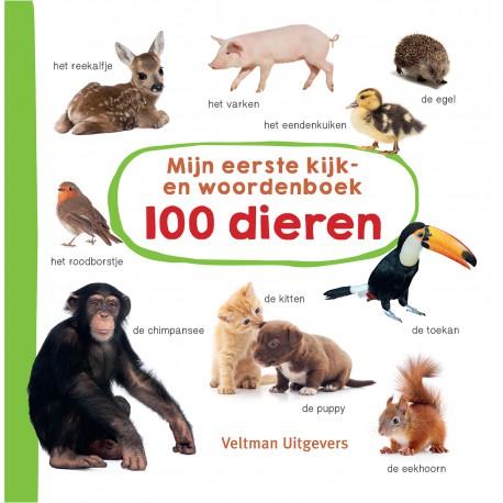 Mijn eerste kijk-en woordenboek: 100 dieren