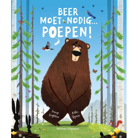 Beer moet nodig... poepen!