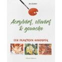 Acrylverf, olieverf & gouache