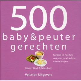 500 baby & peuter recepten